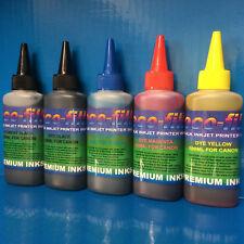 500ml ECOFILL Pigment/Dye Refill Ink Fit Canon Pixma MG6850 MG6851 MG6852 MG6853
