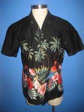 Jade Fashions Magnum PI Parrots Cotton Hawaiian Camp Shirt M Mint