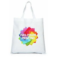 38cmx40cm Blank Dye Sublimation Shopping Bag for Heat Press Machine - 10Pcs