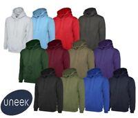 Uneek Olympic Hooded Sweatshirt Unisex Hoodie Jumper Sweater Top (UC508)