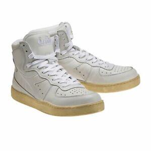 Diadora Heritage Scarpa Sneaker Unisex MI BASKET USED Bianco