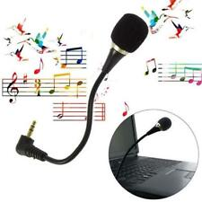 Jack Microphone Speaker Flexible 3.5mm mini Mic PC Laptop Notebook Desktop skype