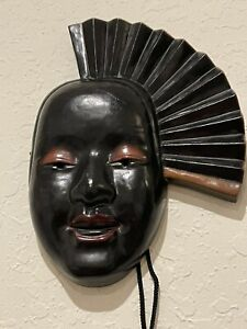 Victor Carranza Original For Mikasa Mask Wall Decoration Japan SIGNED BOO BOO