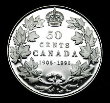 1908-1998 Canada silver proof 50¢ coin - taken from the silver proof set #2