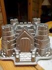 Nordic Ware Castle 10 Cup Bundt Cake Pan Mold 10 Cups