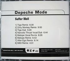 "DEPECHE MODE ""SUFFER WELL"" 2006 DJ PROMO CD SINGLE 8 TRACKS ~RARE~ HTF *SEALED*"