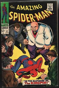 Amazing Spider-Man #51 Fine   2nd Appearance of the Kingpin