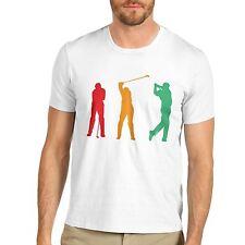 Men's Golf Swing Sports Graphic Print T-Shirt