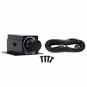 Alpine RUX-KNOB.2 Remote Bass Knob Subwoofer Level Control for Alpine Amplifiers