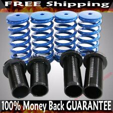 BLUE 88-00 Honda Civic 94-01 Acura Integra Coilover Lowering Springs Kits