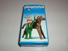 Playmobil Klicky 3344 Cowboy Revolverheld Pferd Western 70er 80er Jahre OVP