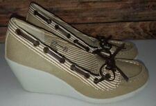 Wedge Wear to Work Pinstripe Heels for Women for sale | eBay