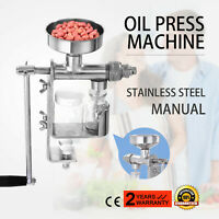 DIY Nut Seed Peanut Mini Small Oil Machine Expeller Extractor Hand Press Manual