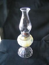 Thumbprint Panel U S Glass Lamp EAPG