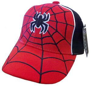 Spider Man Cap Boy Kids Hat Cap