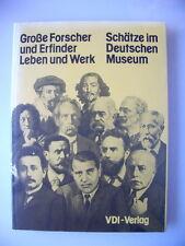 Große Forscher Erfinder Leben Werk 1978 Schätze im Deutschen Museum