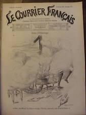 LE COURRIER FRANCAIS 1901 N 2 DESSIN DE WILLETTE