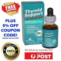 THYROID SUPPORT NATRABIO 30ml HOMEOPATHIC HORMONE MEDICINE NATURAL T3 SUPPORT