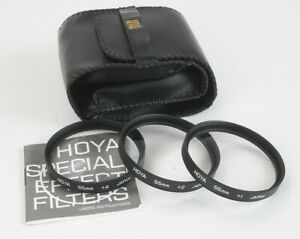 HOYA CLOSE-UP LENS SET, 55MM, WITH POUCH 1 2 AND +3/178404