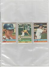 1976 TOPPS BASEBALL PICK-15 TO COMPLETE YOUR SET OR TEAM SET