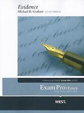 Exam Pro Essay on Evidence, 2d (Sum + Substance Exam Pro)
