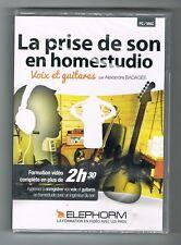 La Prise de son en Homestudio - Elephorm