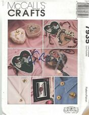 7935 UNCUT Vintage McCalls SEWING Pattern Ribbon Embroidery Gooseberry Hill oop