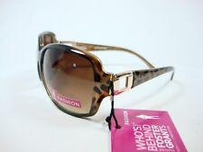 Foster Grant Brown sunglasses Gold square design Revive New