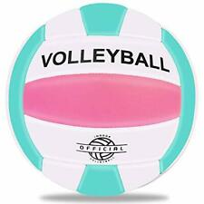 EVZOM Super Soft Volleyball Beach Volleyball Official Size 5 for Outdoor/Indo...