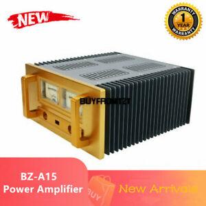 Unassembled BZ-A15 Class A Power Amplifier Aluminum Enclosure DIY Amp Case TZT#