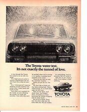 1971 TOYOTA CORONA HARDTOP ~ ORIGINAL PRINT AD
