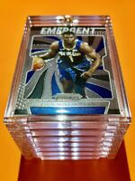 Zion Williamson ROOKIE PANINI PRIZM EMERGENT 2019-20 RC GREAT INVESTMENT - Mint!