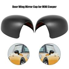 1 Pair Side Door Wing Mirror Covers Caps for MINI Cooper R52 R50 R53 Left+Right