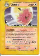 Clefable Reverse Holo 7/165- Expedition - NM/M - SAME DAY SHIPPING