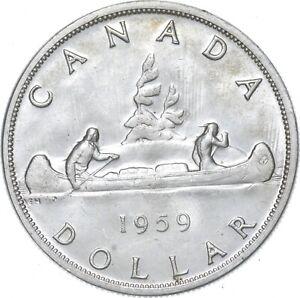 Better - 1959 Canada 1 Dollar - TC *160