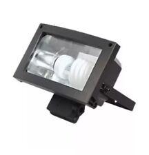 Energy Saving CFL Floodlight Black 23W With Bulb BNIB