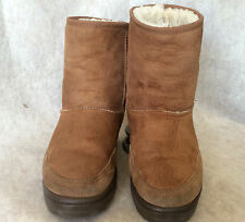 UGG  Ultra  Short AUSTRALIA Boots Brown/ Taupe 5225 SIZE W6 US