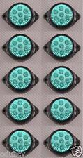 10 x 7 LED 12V INDICATORE LATERALE VERDE LUCI AUTO SUV Camper 4X4 PICK-UP
