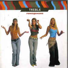 Treble-Ramaganana cd single eurodance holland