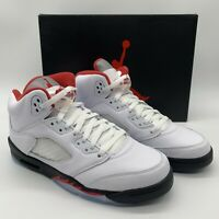 Air Jordan V 5 Retro OG (GS) Fire Red 440888-102 Size 7Y Women's 8.5