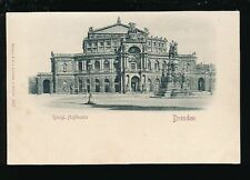 Unposted Dresden Printed Collectable German Postcards