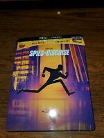 Spies In Disguise - Will Smith(4K Ultra HD + Blu-Ray+Digital) Steelbook LIKE NEW