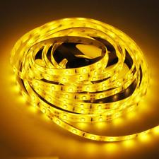 Bright Ultra Yellow 5M 2835 Waterproof Flexible LED Strip Light 300Leds 12V