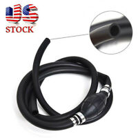 """3/8"""" Marine Outboard Boat Motor Fuel/Gas Hose Line Assembly with Primer Bulb USA"""