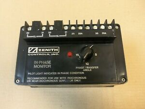 Zenith Controls Inc.k-1157 IN-PHASE MONITOR KMGM