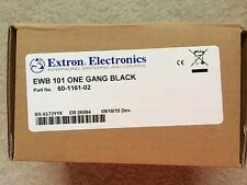 Extron EWB 101 External One Gang Wall Box Black 60-1161-02