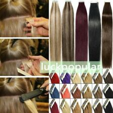 Seamless Tape In Skin Weft Tape Remy Human Hair Extensions Women Hair Styling 9A