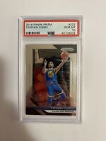 Stephen Curry PSA 10 2018 Panini Prizm Golden State Warriors Gem Mint Card