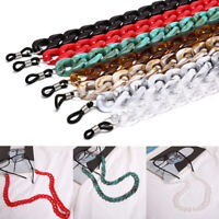 Acrylic Eyeglass Reading Glasses Sunglasses Spectacles Holder Cord Chain CRIT