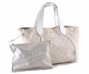 Louis Vuitton Beach Line Cabas Ipanema PM Tote Bag Pink Beige M95982 LV D8123